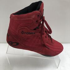 Otomix Red Boxing MMA Wrestling Weightlifting Shoe Men's Size 7 (Women's Sz 8.5)