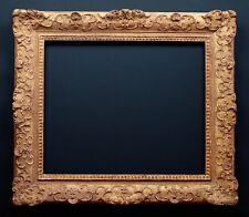 Bilderrahmen alt antik Prunk Gold Holz Stuck Historismus Régence Stil ~1880
