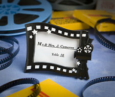 50 Hollywood Movie Photo Frame Place Card Holder Wedding Party Event Favor Lot