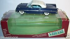 VITESSE CHEVROLET IMPALA 1960 CLOSED CABRIOLET BLEU NUIT REF 391 1/43 IN BOX