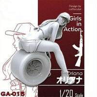 1/20 Oriana Girls in Action Resin Model Kits Unpainted GK Unassembled