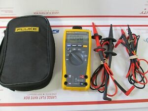 Fluke 179 True RMS Multimeter in case with Leads + Extras