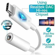 USB Type C To 3.5mm Aux Audio Charging Cable Adapter Headphone Jack S10 S10+ S9