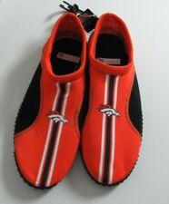 Denver Broncos Mens Water / Boat Shoes / Socks  Size XL 13-14