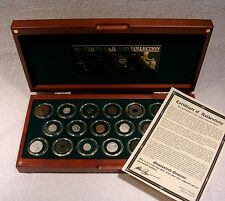 20 Centuries A.D. Coin Collection - Genuine Coins Spanning 2000 Years  with COA