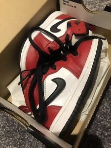 Toddler jordan 1 mid  Chicargo Black Toe