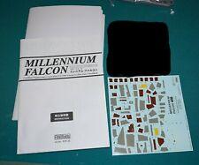 Halcón Milenario Star Wars Fine Molds/Revell 1/72 Calcomanía de instrucciones carta de color