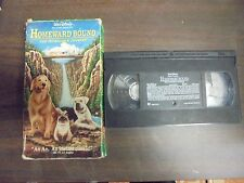 "USED VHS MOVIE Walt Disney  ""Homeward Bound"""