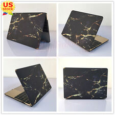 "Silk Leather Marble Rainbow Matte Case Cover for MacBook 12"" Air Pro 11"" 13""15"""