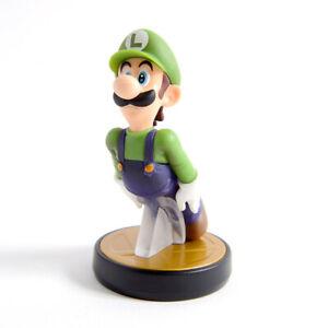 Super Smash Brothers Luigi Amiibo ~ Nintendo Switch ~ Wii U 3DS US Version Mario