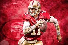 NFL San Francisco 49ers Alex Smith #11 24x36 Poster Art Banner Home Decor