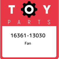 16361-13030 Toyota Fan 1636113030, New Genuine OEM Part