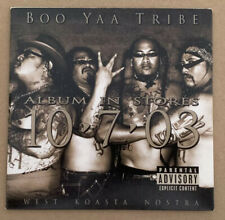 Boo Yaa Tribe EMINEM West Koasta Nostra CD Promo Sampler Gangsta Rap LP HIP HOP