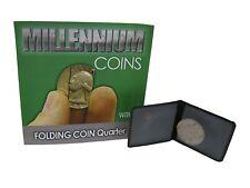 Millennium Folding Quarter Magic Trick - Wavy Cut, Coin Magic