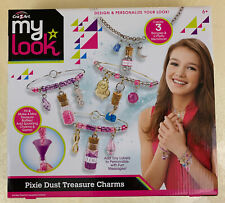 CraZart My Look Pixie Dust Treasure Charms Jewelry Craft Kit Brand New In Box