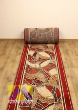 CHEAP X LARGE SMALL RED HALL RUNNER CARPET GOLD COLLECTION LONG MODERN STAIRS