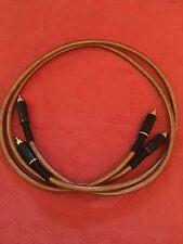 2 gebrauchte Cinch Kabel