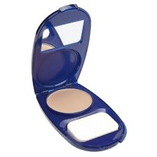 CoverGirl AquaSmooth Compact Foundation, Buff Beige [725] 0.40 oz (Pack of 4)