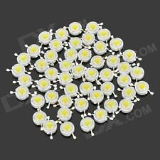 1000 pcs 1W Power LED SMD bead Chips bulb white