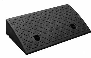 GNB Industry Curb Ramp Portable Lightweight Heavy Duty Plastic Threshold Ramp...
