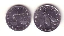 ITALIA 1 lira 1970 + 2 liras 1970 S/C - Italy 1 lire + 2 lires 1970 UNC