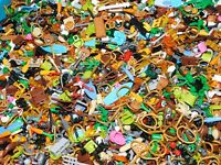 LEGO HEADS BRAINS STRAWBERRIES TROLL HAGRID ORANGE PUMPKIN FOR MINIFIGURES