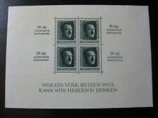 THIRD REICH Mi. #Block 11 scarce mint stamp sheet! CV $120.00