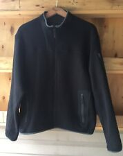 Arc'teryx Black Covert Cardigan Full Zip Fleece Jacket, Size Medium $179