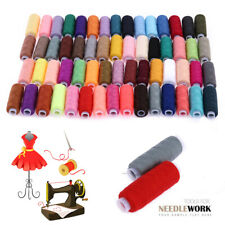 30 Spools Mixed Colors 100% Polyester Sewing Quilting Threads All Purpose Set