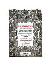 The Book of Revelation Facsimile from 1612 First Quarto King James Bible