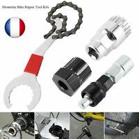 Outil reparation vélo MTB VTT chaine roue libre Extracteur Pedalier Démonte kit