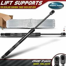 Pair Rear Gate Tailgate Trunk Liftgate Lift Supports Struts for Chevy GMC 07-14