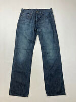 LEVI'S 559 RELAXED STRAIGHT Jeans - W32 L34 - Navy - Great Condition - Men's