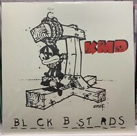 "MF DOOM KMD Black Bastards ""Bl_ck B_st_rds"" Vinyl 2010 Reissue - Brand New"