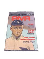 SMR SPORTS MARKETING REPORT, March 2019, Factory Sealed, Ty Cobb
