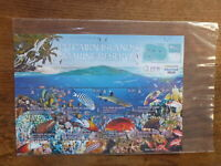PITCAIRN Is 2017 MARINE RESERVE 8 STAMP MINI SHEET MINT STAMPS