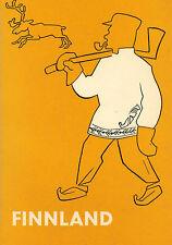 Walter Hanf, Finnland, Reihe Fahrtenführer d Europa, Suomi, Juventa Verlag 1960