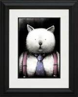 "DOUG HYDE  ""TOP CAT"" NEW  FRAMED LIMITED EDITION GICLEE PRINT"