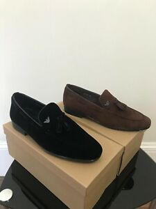 mens loafers size 9.5 uk black only