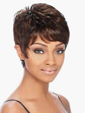 100% Real Hair! Unique Brown Human Hair Short Wigs For Women Wig