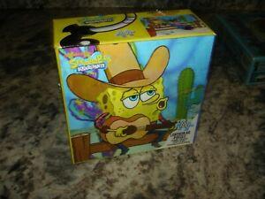 "Nickelodeon 3D SpongeBob Square Pants 100pcs Lenticular Puzzle 12""×9""  NEW"