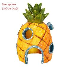 SpongeBob Pineapple Bob Squarepants Pineapple Haus Aquarium Aquarium Ornament
