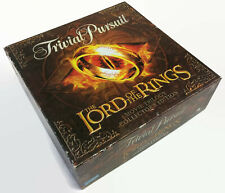 Trivial Pursuit Lord of the Rings Movie Trilogy Collector's Game