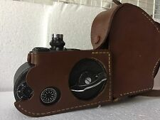 B&H FILMO Sportster Double Run 8  Movie Camera w/Leather case - Tested