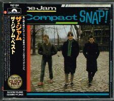 "The Jam ""Compact Snap"" Japan CD w/OBI POCP-1864"