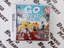 GO WEST! UN'AVVENTURA DI LUCKY LUKE NINTENDO DS 3DS ITALIANO COMPLETO COME NUOVO