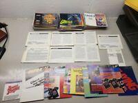106 NES Nintendo Manuals with extra inserts Godzilla Lolo Double Dragon MORE