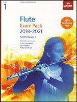 Flute Exam Pack 2018-2021 ABRSM Grade 1 Sheet Music Book/Audio Scales Arpeggios