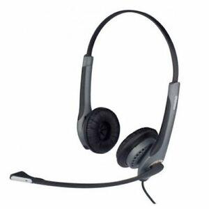 New Jabra GN2000 Duo NC Flexboom Headset - P/N 2019-82-04