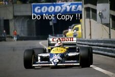 Nelson Piquet Williams FW11B Detroit Grand Prix 1987 fotografía 1